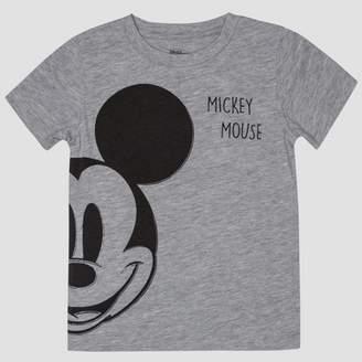 58f8fdcfdea8 Mickey Mouse Toddler Boys' Mickey Mouse Short Sleeve T-Shirt - Gray