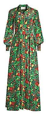 Alexis Women's Hiroka Botanical Robe Maxi Dress