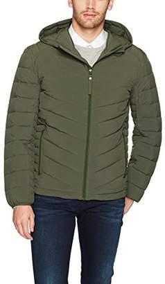 Andrew Marc Men's Delavan Ultra Stretch Packable Hooded Jacket
