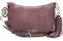 GUESS Alana Top Zip Logo Crossbody Bag