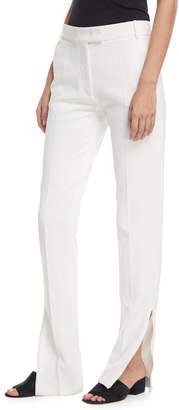 Joseph Reeve Zip-Cuff Flare Crepe Pants