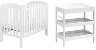 East Coast Nursery Cot Set, White, 2-Piece, 4366WC