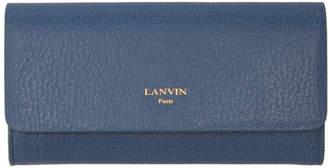 Lanvin Blue Longline Wallet
