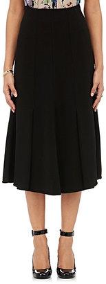 Giorgio Armani Women's Pleated A-Line Skirt-BLACK $679 thestylecure.com