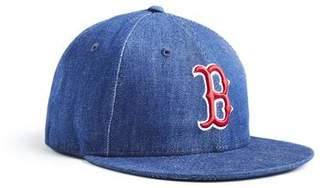 c9a11717b57 Todd Snyder + New Era + NEW ERA MLB BOSTON RED SOX CAP IN CONE DENIM