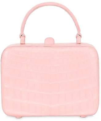 Nancy Gonzalez Caiman Box Top Handle Bag