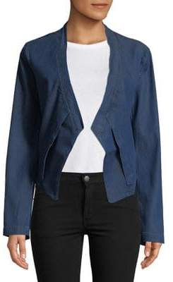 Halston H Layered Open-Front Jacket
