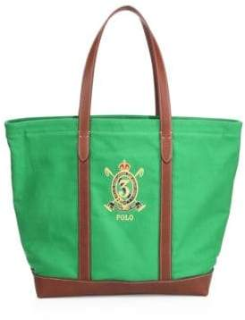 Polo Ralph Lauren Crest Canvas Tote