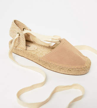 Soludos Leather Gladiator Espadrilles