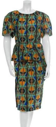 Kira Plastinina Lublu Silk Dress w/ Tags