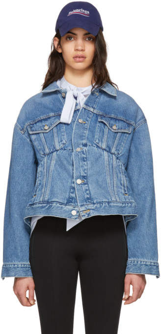 Blue Denim Swing Jacket