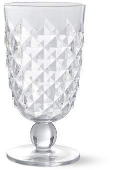Williams-Sonoma Williams Sonoma Diamond Cut Outdoor Goblets