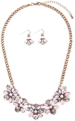Riah Fashion Statement Necklace & Earring