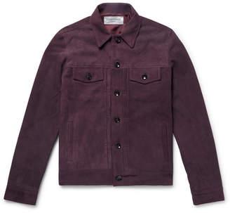 Liam Suede Trucker Jacket