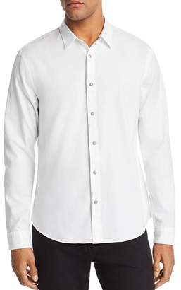 John Varvatos Clean Snap-Front Regular Fit Oxford Shirt
