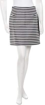 Richard Nicoll Striped Mini Skirt