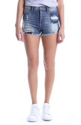 KUT from the Kloth KUT Kollection High Waist Ripped Denim Shorts