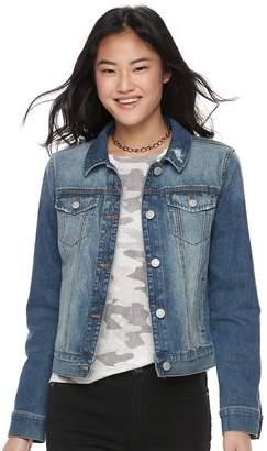 Mudd Juniors' Faded Jean Jacket