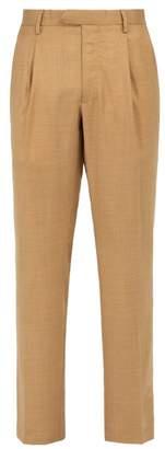 Saturdays NYC Gordy Straight Leg Trousers - Mens - Beige