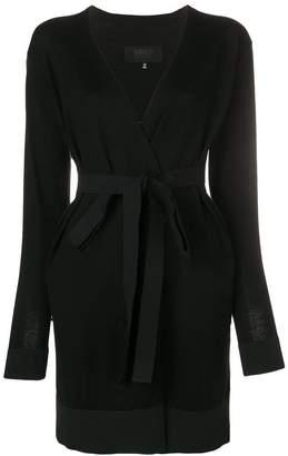 MM6 MAISON MARGIELA belted waist cardigan