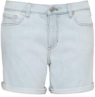 "Banana Republic Petite Roll-Up Light Wash 6"" Denim Short"