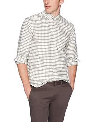 J.Crew Mercantile Men's Slim-Fit Long-Sleeve Tattersall Oxford Shirt