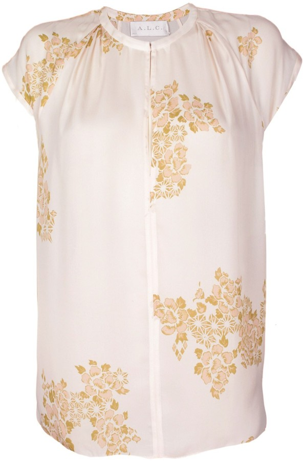 A.L.C. Maryna Floral Blouse