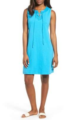 Tommy Bahama Lace-Up Shift Dress