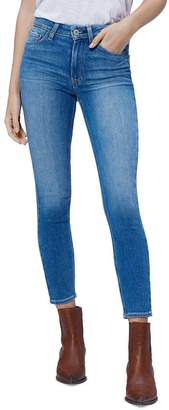 Paige Hoxton Cropped Jeans in Renzo