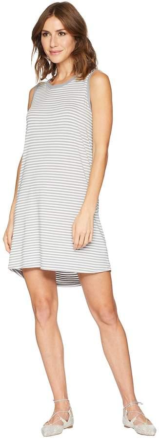 Stripe Short Tank Top Dress Women's Dress