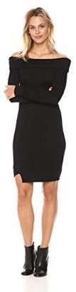 William Rast Women's Kennedy Off The Shoulder Super Soft Dress
