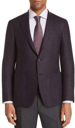Canali Kei Textured Solid Regular Fit Sport Coat - 100% Exclusive