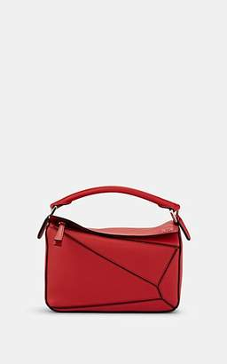 Loewe Women's Puzzle Small Leather Shoulder Bag - Scarlet Red