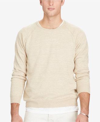 Polo Ralph Lauren Men's Crew Neck Sweater $145 thestylecure.com
