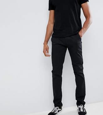 Farah Elm slim fit chino in black