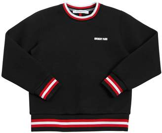 Givenchy Double Jersey Sweatshirt With Logo