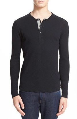 Men's Wings + Horns 'Base' Long Sleeve Henley $95 thestylecure.com