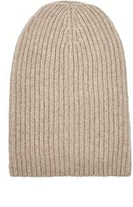 Barneys New York Women's English Rib-Knit Beanie - Beige, Tan