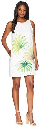 Tommy Bahama Cirque De Palm Shift Dress Women's Dress