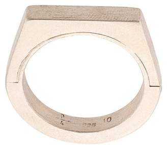 Parts Of Four geometric matte ring