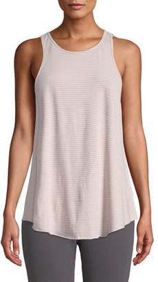 Frank And Eileen High-Neck Striped Active Tank
