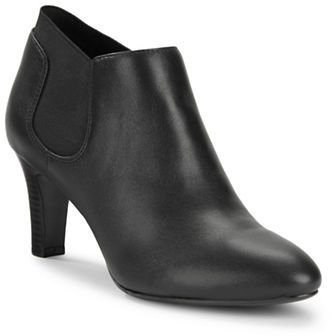 Bandolino Bandolino Wilbur Leather Ankle Booties