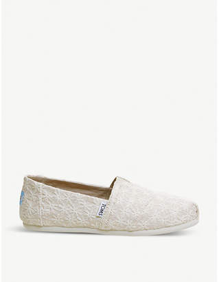 Officine Creative Alpargata floral chambray shoes