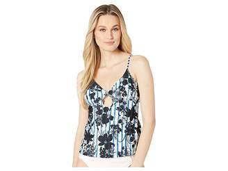 Lucky Brand On the Grid Tankini