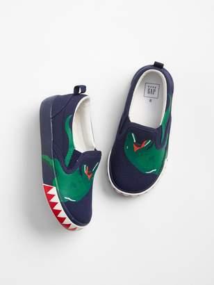 Gap Dino Slip-On Sneakers