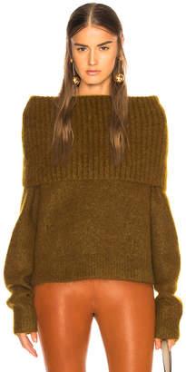 Acne Studios Fold Over Sweater