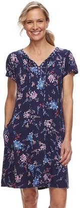Croft & Barrow Women's Printed Nightgown