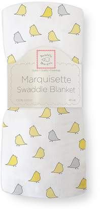 Swaddle Designs Marquisette Swaddling Blanket, Jewel Tone Little Chickies