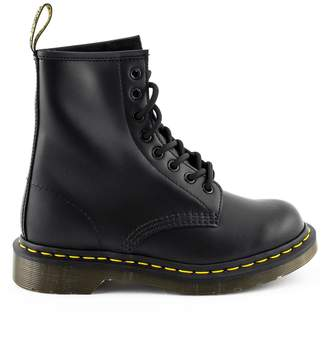 Dr. Martens Black Leather Ankle Boot.