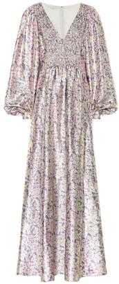 Stella McCartney Floral silk-blend dress